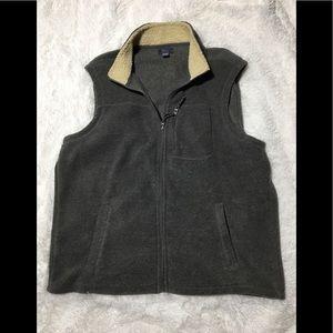 Men's Bass Gray Vest Size XXL